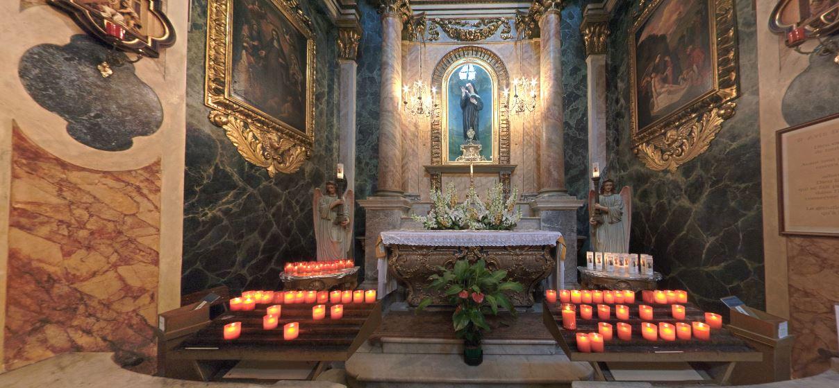 Chapelle Sainte Rita, Vieux-Nice http://www.sainte-rita.net
