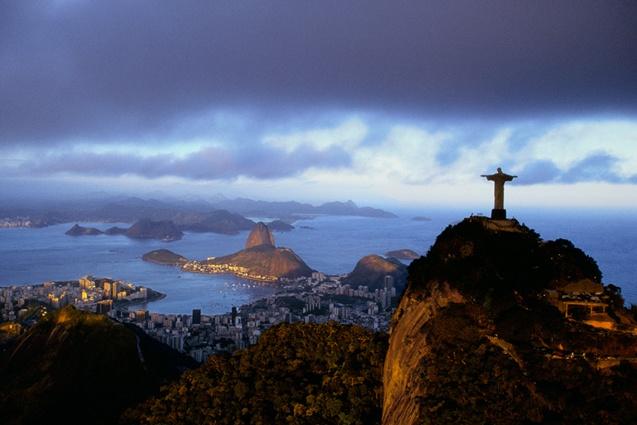 Christ Rédempteur de Rio, par Yann Arthus Bertrand