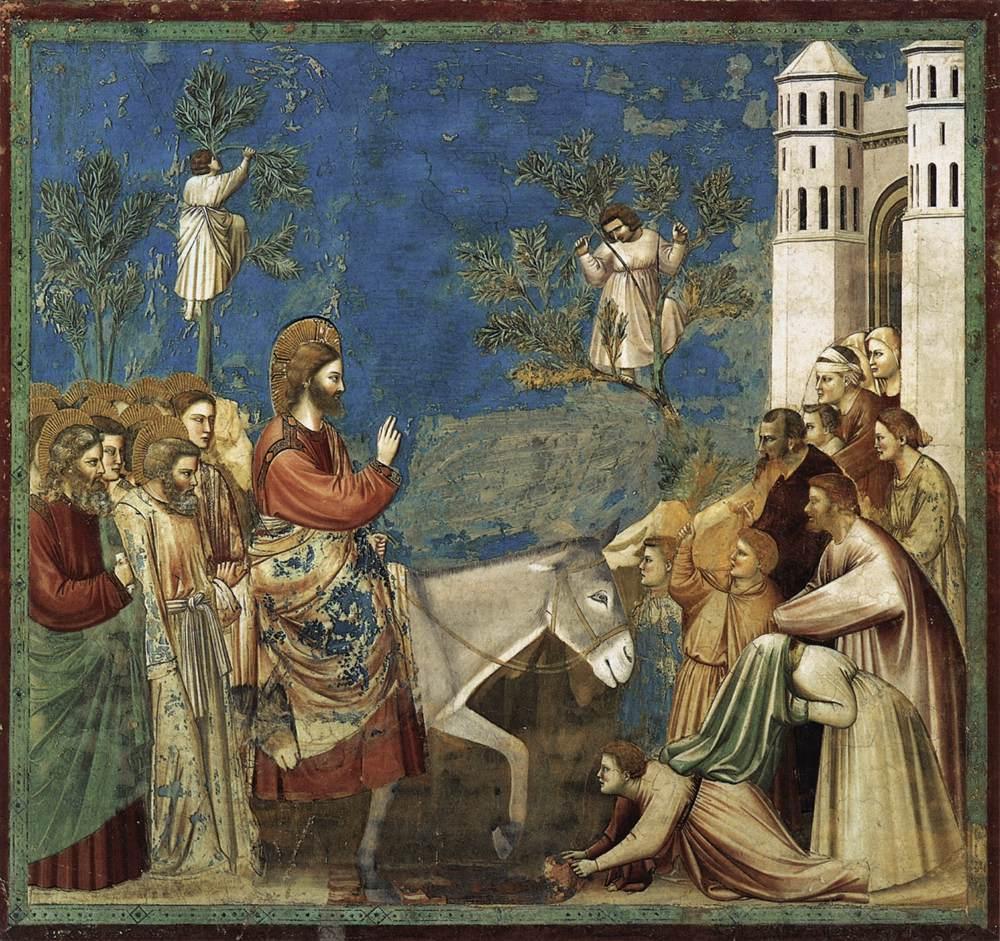 Entrée à Jérusalem, Giotto di Bondone (1304)