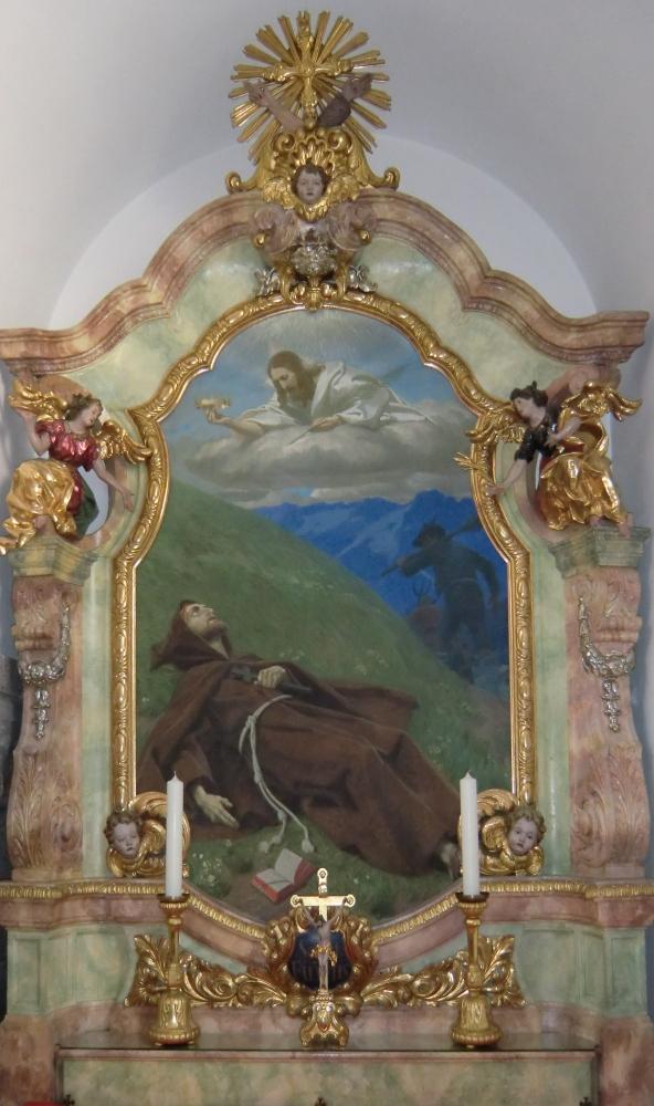 Autel Saint Fidèle de Sigmaringen, Kempten (Bavière)