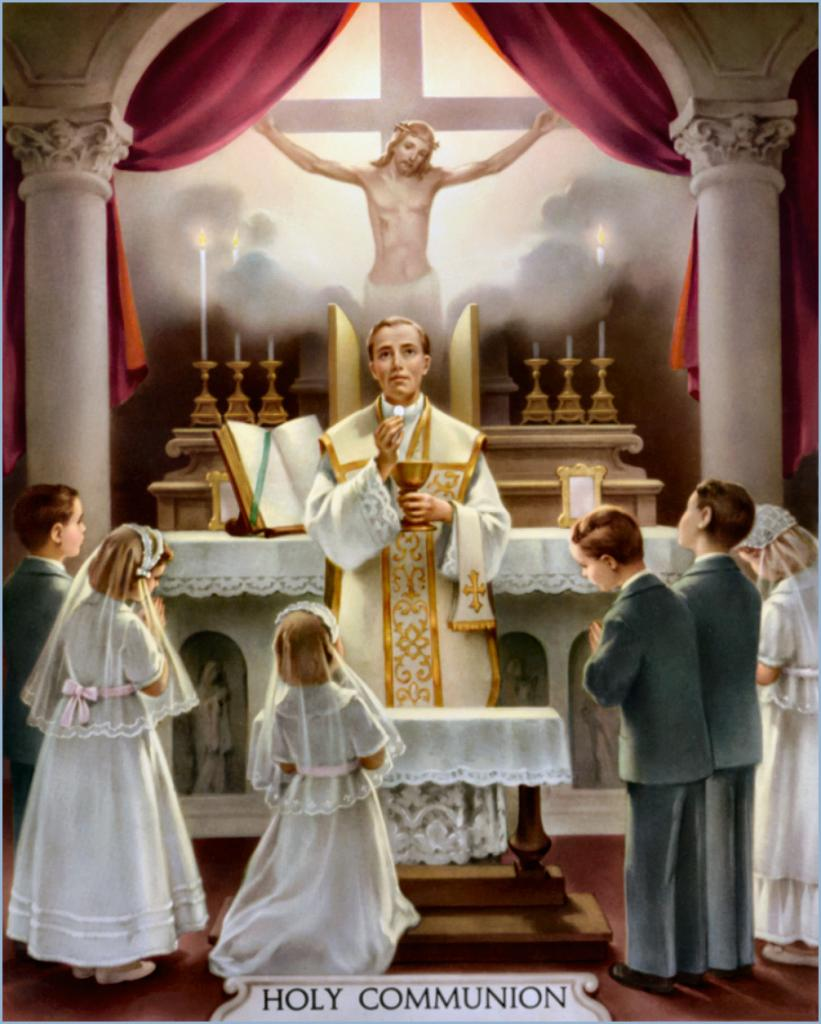 Holy Communion - Sacrement de l'Eucharistie