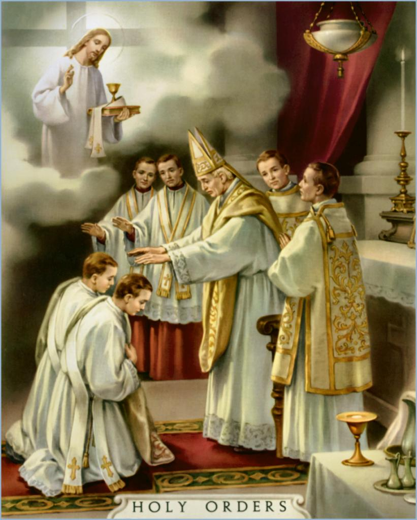 Holy Orders - Sacrement de l'Ordre (Ordination sacerdotale)