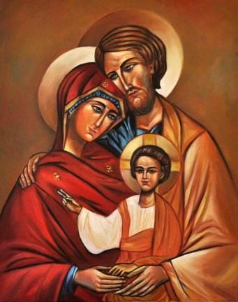 Icône de la Sainte-Famille