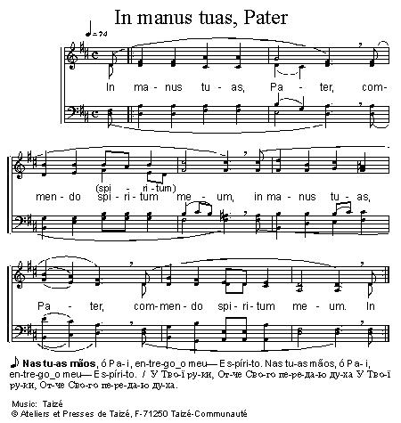 In manus Tuas, Pater