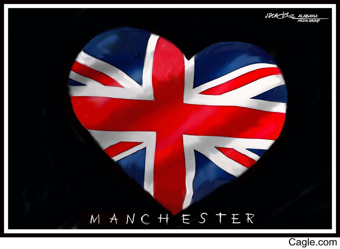 Hommage aux victimes de Manchester, 22.05.207