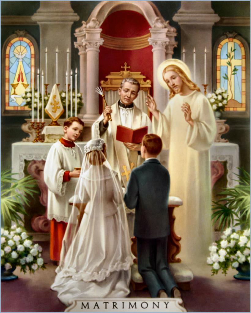 Matrimony (Marriage) - Sacrement du Mariage