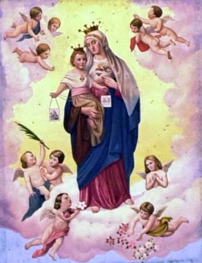 Scapulaire du Coeur Immaculé de Marie