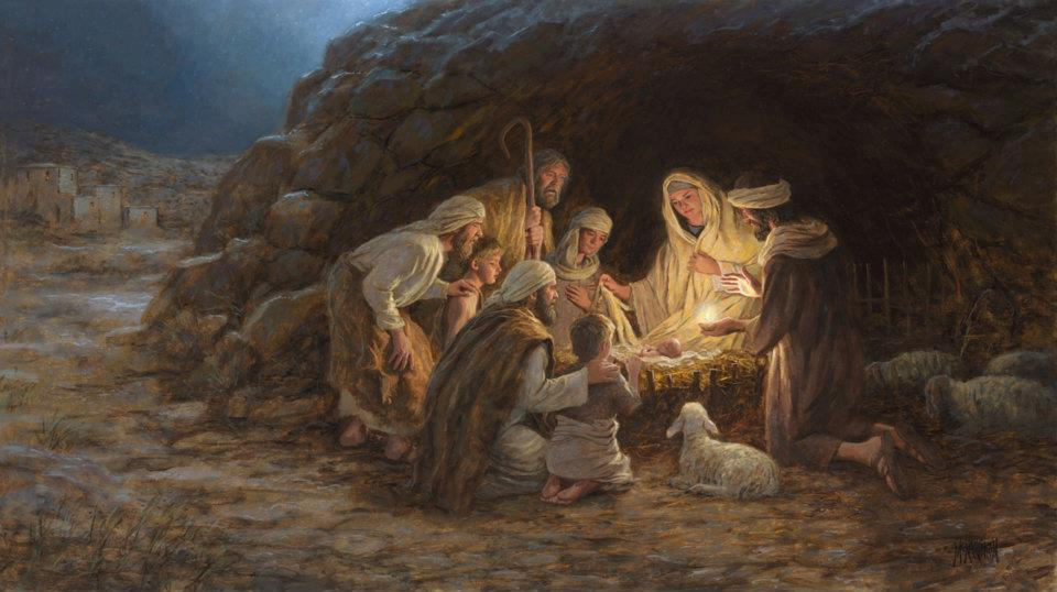 The Nativity,Jon McNaughton,parousie.over-blog.fr