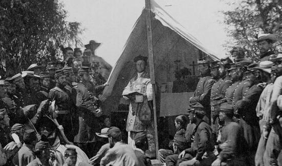 Aumonier militaire guerre de secession parousie over blog fr