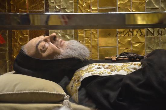 Corps incorrompu saint padre pio parousie over blog fr