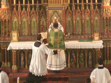 Elevation hostie messe traditionnelle parousie overblog fr