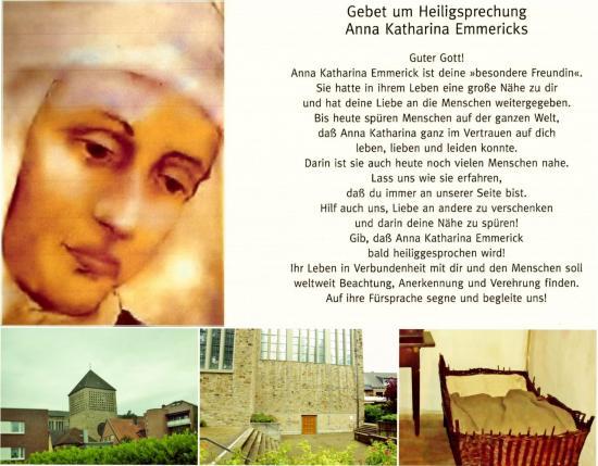 Gebet heiligsprechung anna katharina emmerick parousie overblog fr
