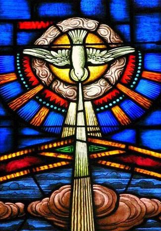 Holy spirit esprit saint vitrail parousie overblog fr