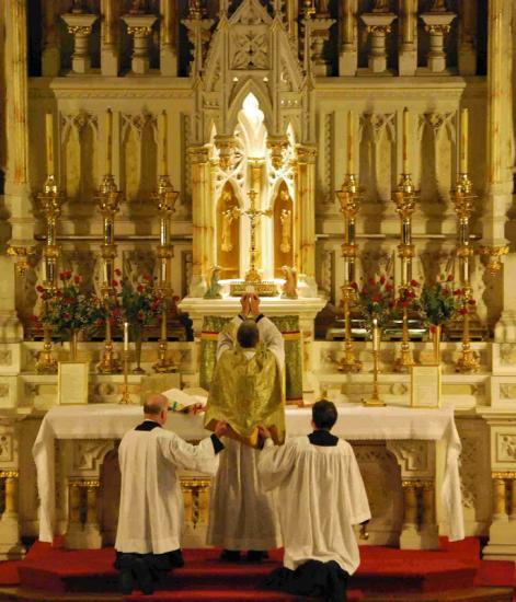 Messe traditionelle rite tridentin parousie overblog fr