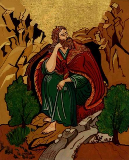 Saint elie elijah icon christine habib el dayeparousie over blog fr